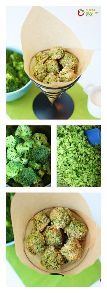 Broccoli Poppers.  Definitely a must try if you want your kids to eat broccoli!  www.superhealthykids.com