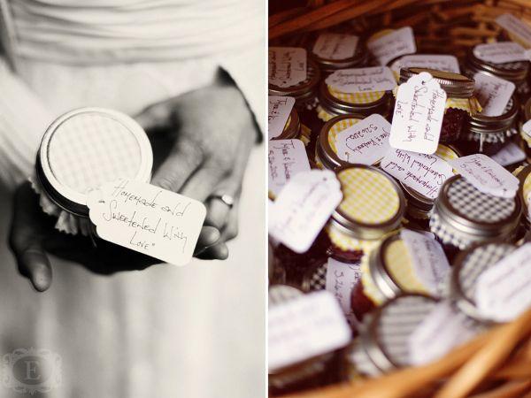 Hochzeit, Gastgeschenke, Marmelade