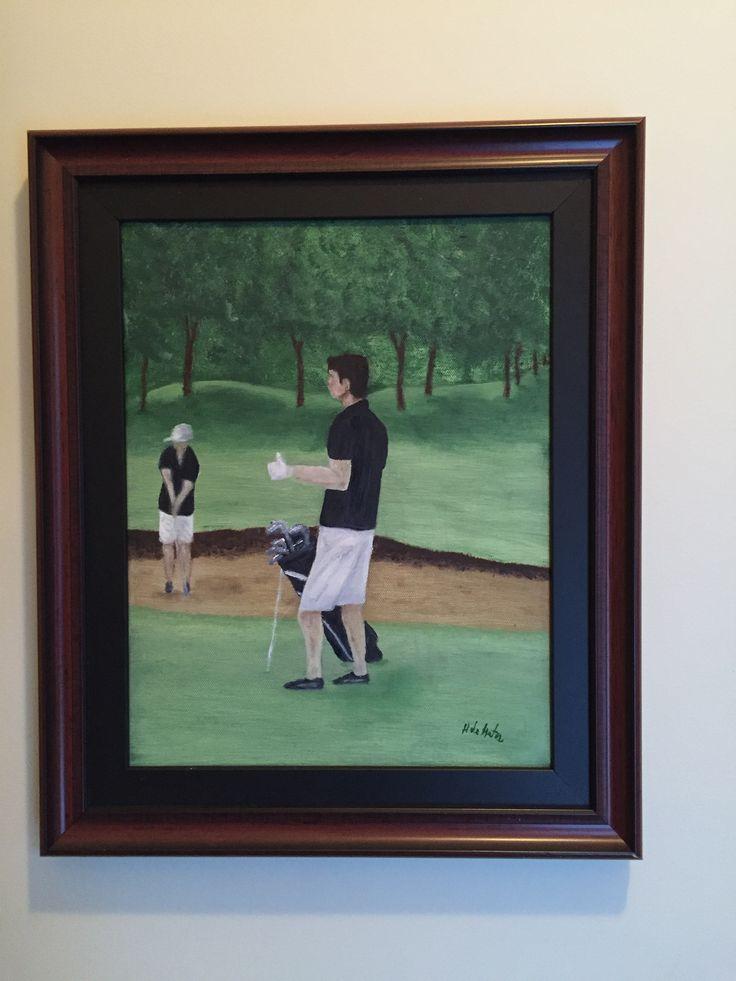 Le golfeur