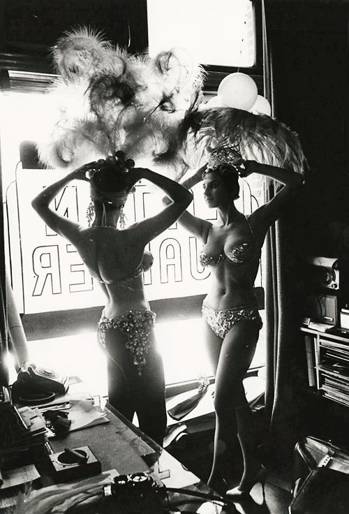 Latin Quarter Showgirls in NYC photographed by Peter Basch c.1950s