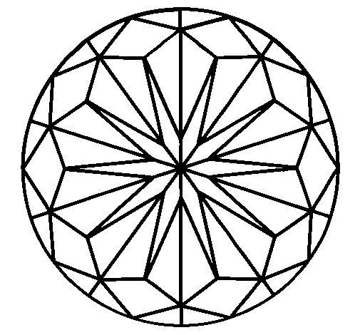 Desenho de Mandala 42 para colorir , imprimir o baixar. Pinta on-line com um jogo de colorir desenhos de Mandalas e você pode compartilhar e crear sua própria galeria de desenhos .