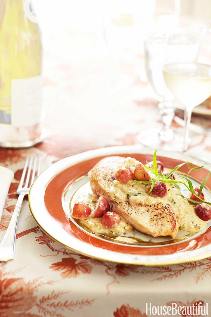 Chicken Veronique Best 25 Champagne Chicken Ideas On Pinterest  French Chicken