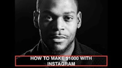 How to make money with Instagram - Make $1000 per month