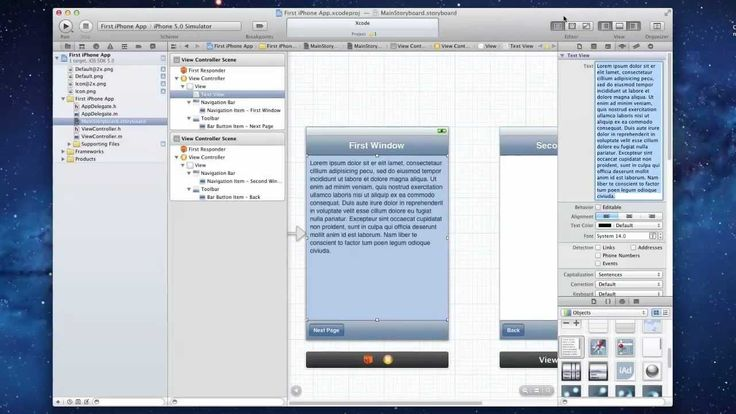 How to Make your First iPhone App in XCode 4