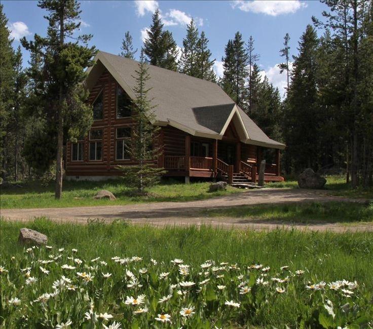 island park cabin rental lariat lodge in island park