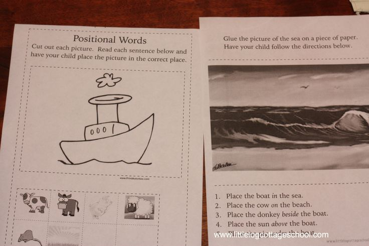 Who Sank the Boat? by Pamela Allen Printables