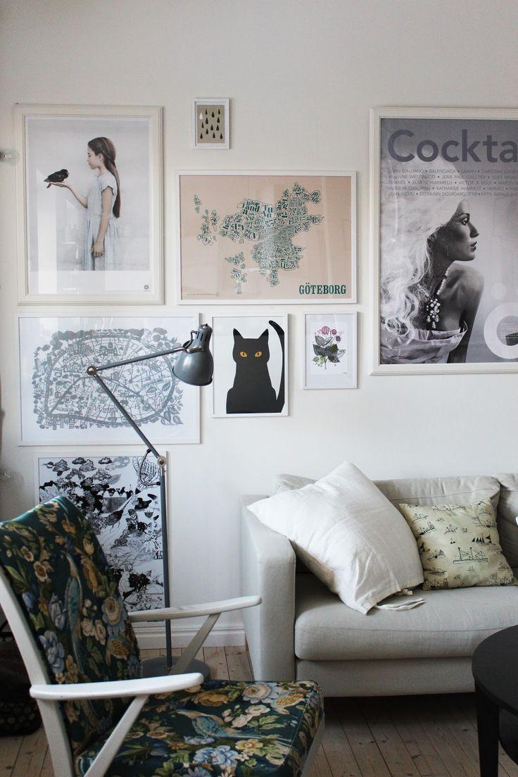 Så fint jag vill.: Vårt vardagsrum i bilder.