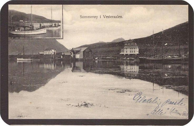 Sommerøy. Vesterålen. Stvgr.For. Stemplet Langenes-1910.