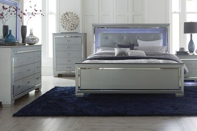 Boden Upholstered Standard Bed Led Bed Frame Upholstered