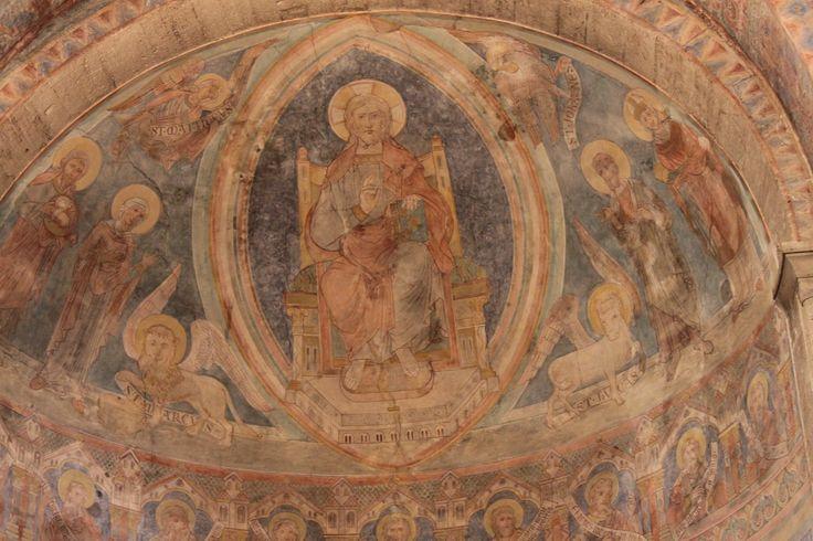 Fresken an der Decke des Braunschweiger Doms Stadt