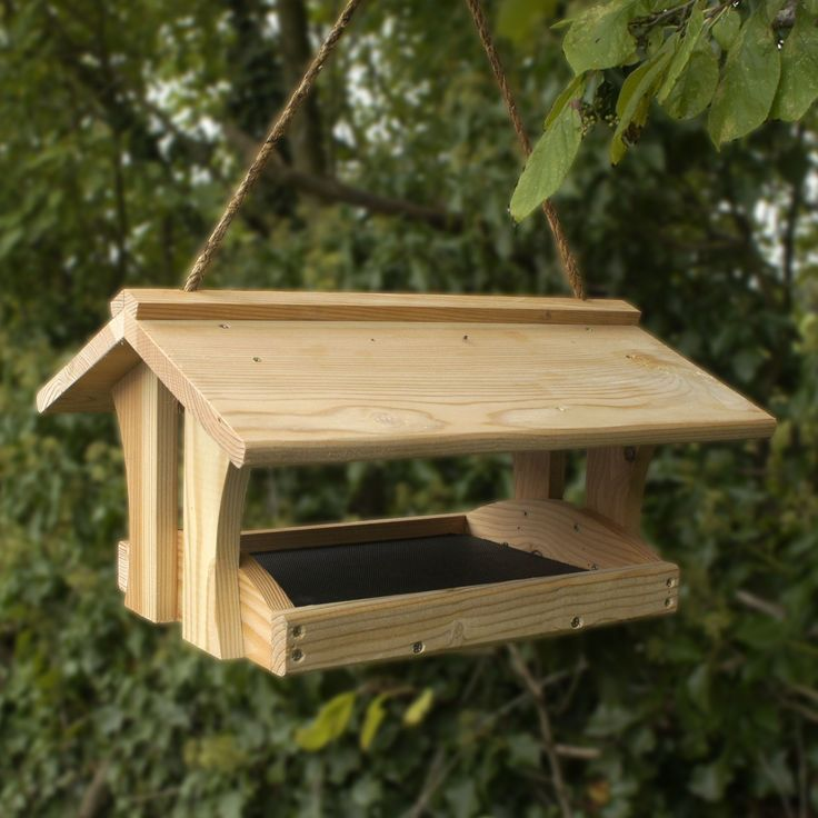 Learn Plans wooden bird feeders How to