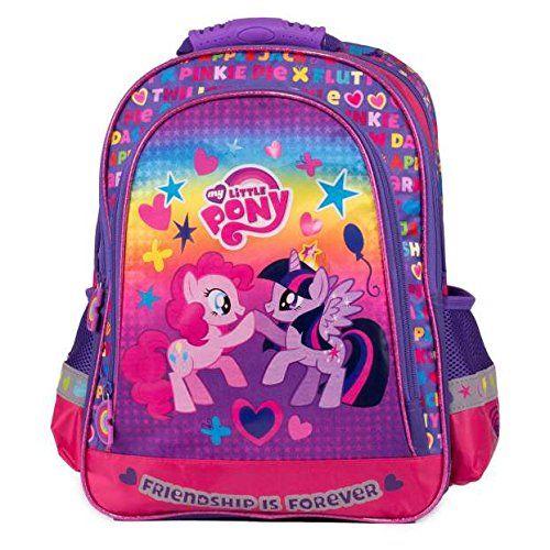 My Little Pony sac a dos cartable école loisirs extrascolaires Mon Petit Poney Arc en Ciel: My Little Pony sac a dos cartable, Dimensions :…