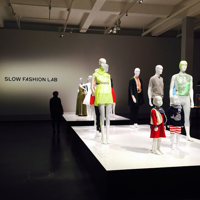"""Slow Fashion Lab (2015-16): """"a new breed of designers from universities across Europe are exploring what it means to be truly sustainable in a fashion context. Some have produced designs that are completely biodegradable, whilst others focus on keeping production local, in order to preserve traditional tailoring skills, or use new and innovative eco-friendly fibres."""""""