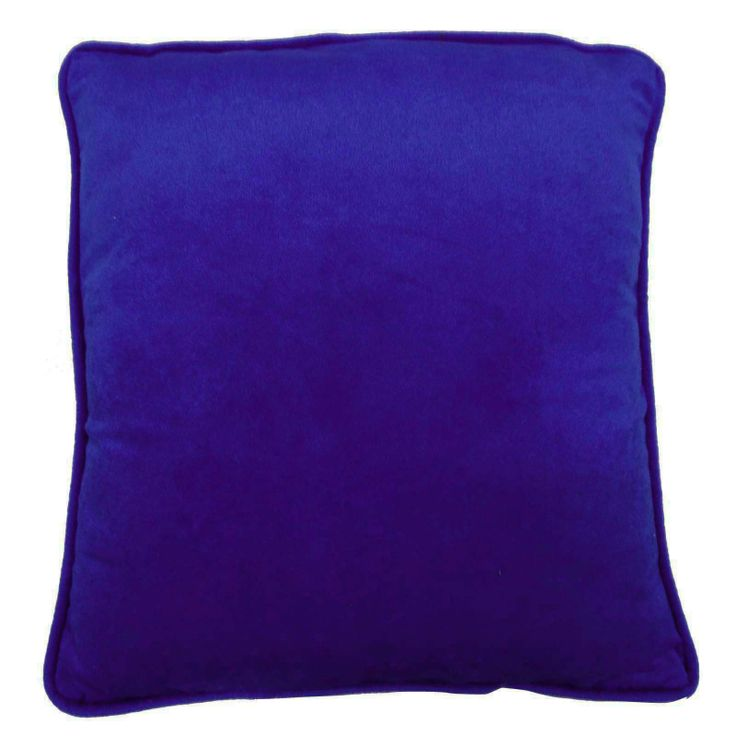 Plain Royal blue Color Velvet Cushion Cover. ..this is img
