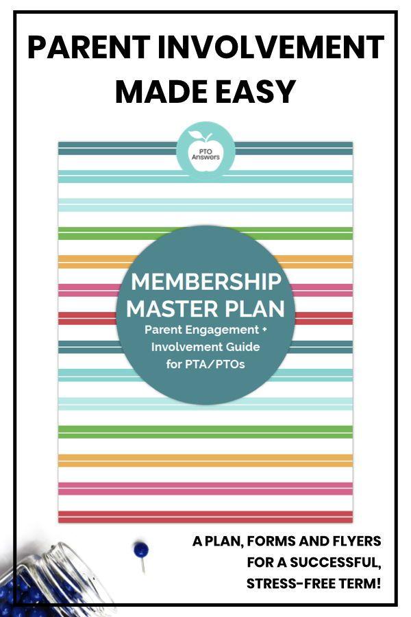 Membership Master Plan Pto Membership, Pto Flyers, Pta