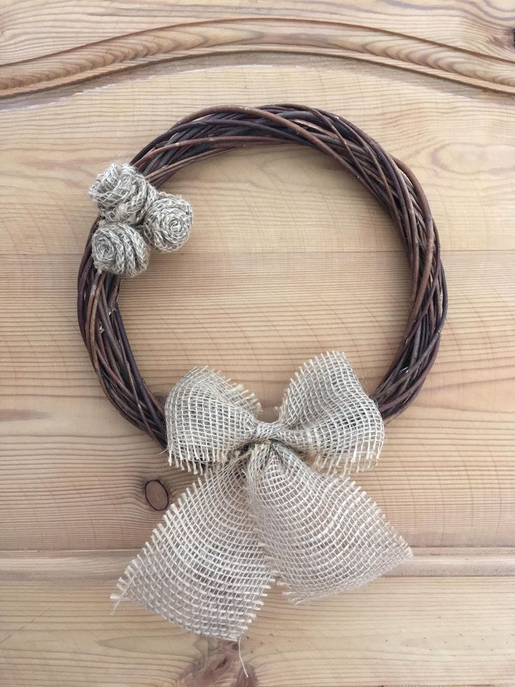 A personal favourite from my Etsy shop https://www.etsy.com/uk/listing/529462321/rattan-handmade-wreath-with-bow-and