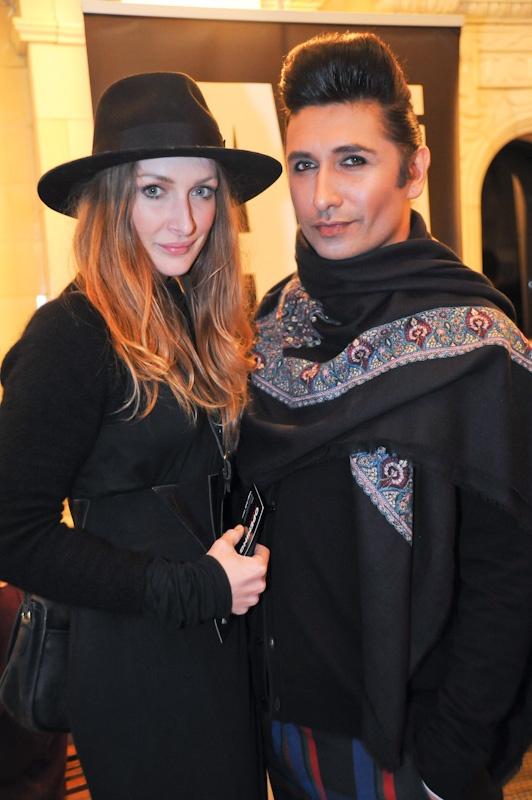 Colin Mathura-Jeffree and model agent Aliana McDaniel at #iDFW 2012