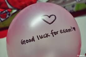 good luck messages for exam