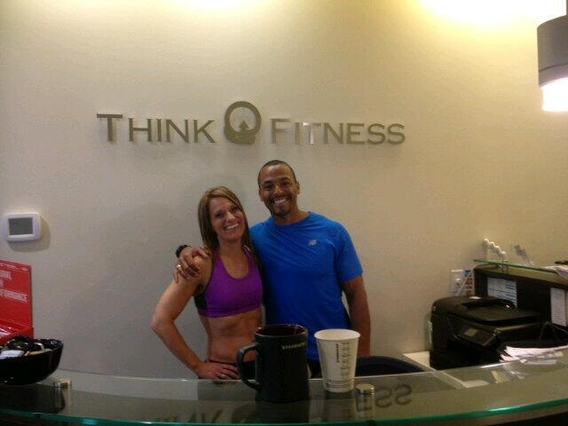 @Fit Your Style Photo Shoot with Jennifer Ettinger and Brent Bishop.