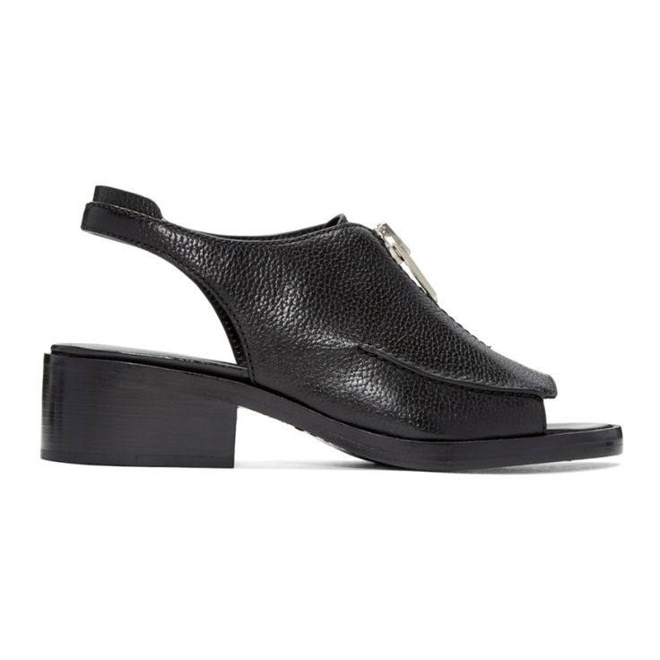 3.1 Phillip Lim - Black Alexa Sandals