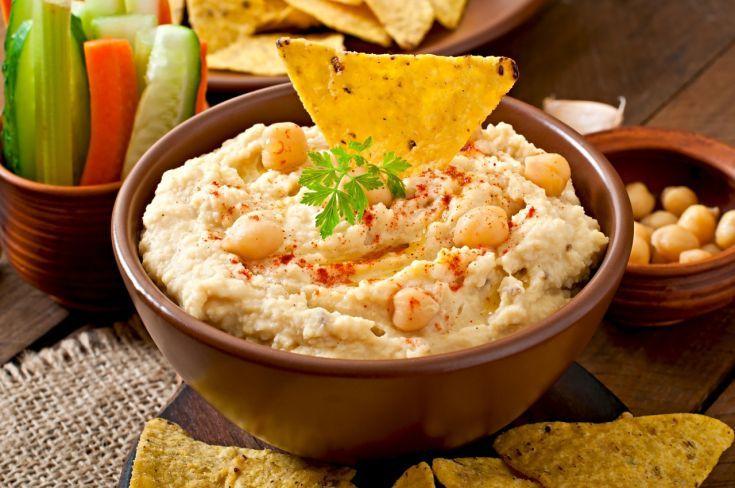 Hummus z cíceru