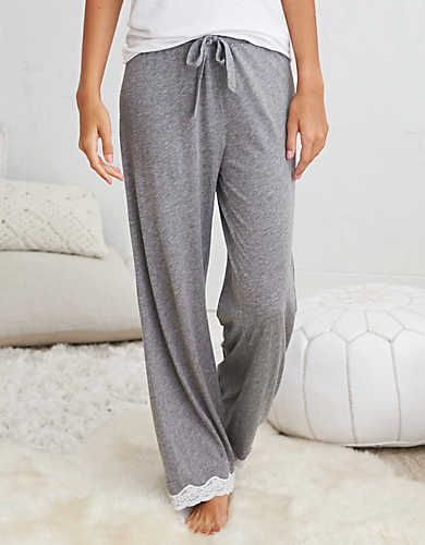 Aerie Sleep Pant , Dark Heather | Aerie for American Eagle