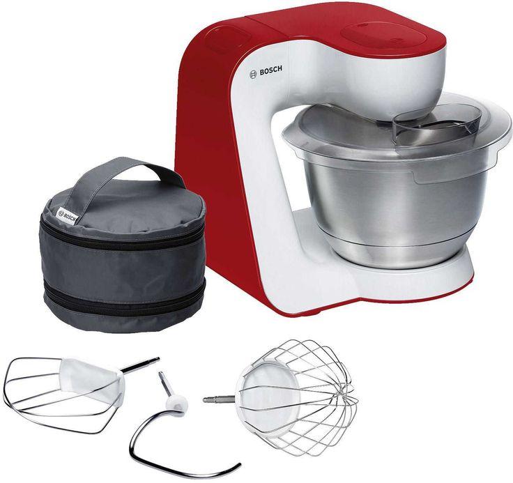 Bosch Küchenmaschine MUM54R00 Rot Weiss günstig kaufen.