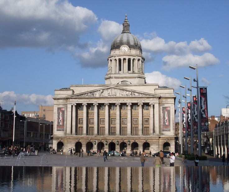 Where we will have our first wedding this may. Nottingham UK council house