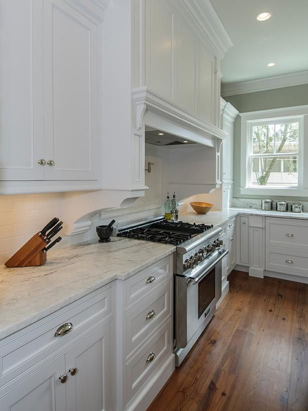 Updated Appliances - Traditional Kitchen Renovation on HGTV. Would work great for Hunt Club