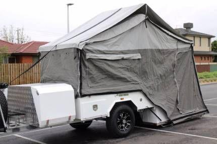 BRAND New Hard Floor Rear Folding Camper Trailer with full annex. | Trailers | Gumtree Australia Brisbane North East - Bridgeman Downs | 1128619700