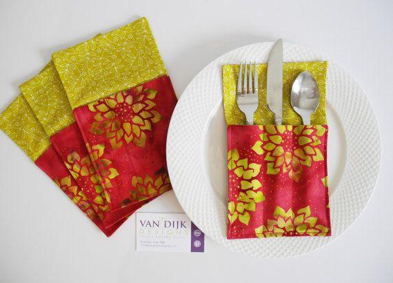 Cutlery Holder Napkin Holder Table Decor Al by VanDijkDesigns