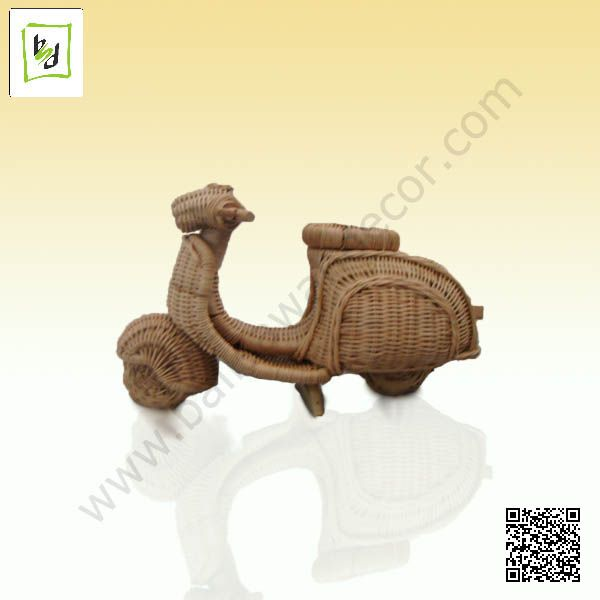 #scooter rattan miniature by #balisawahdecor