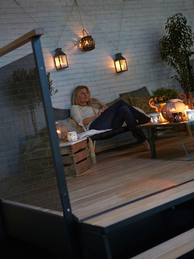 Indretning af terrasse aftenstunder_Dolle terrasse2.jpg Terrasse hygge, sådan kan du indrette din terrasse.