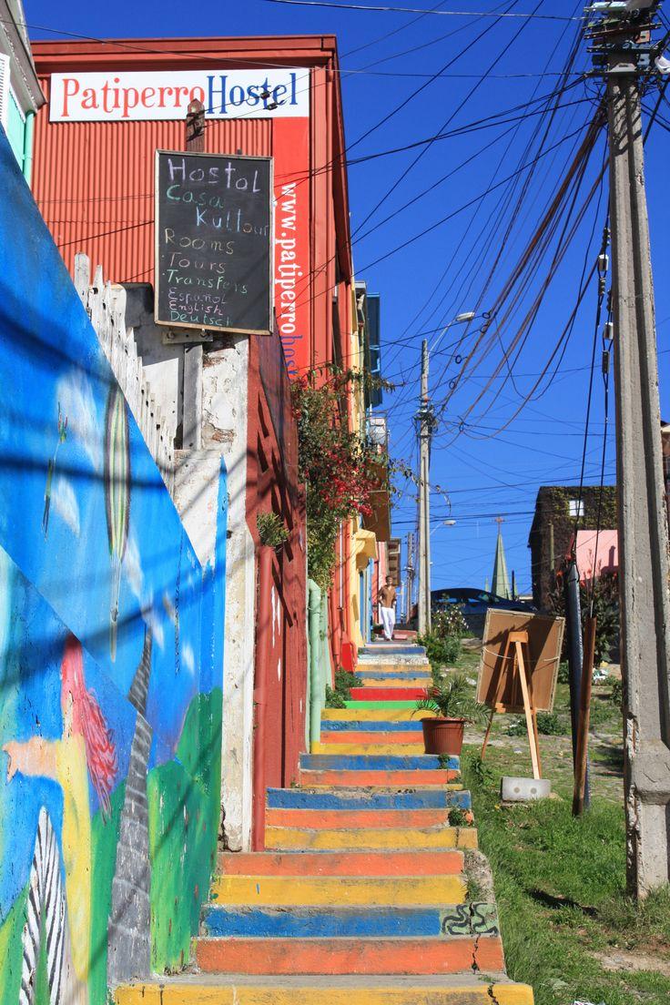 Valparaiso y sus escaleras
