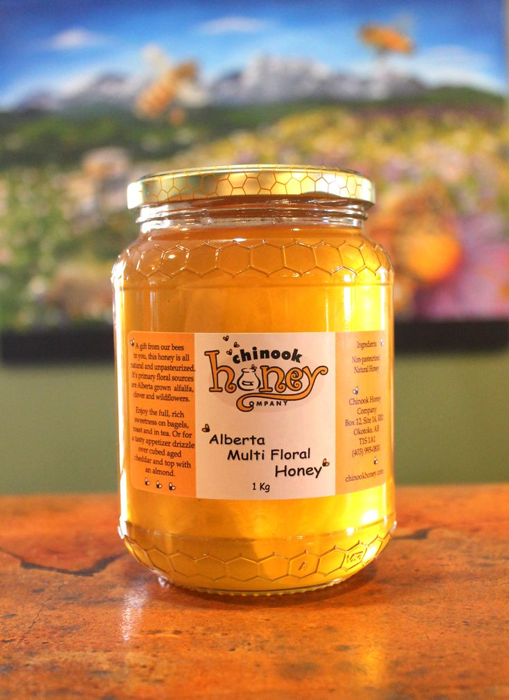 A gift from our bees to you, this #honey is all natural and unpasteurized.  Its primary floral sources are Alberta grown alfalfa, clover and wildflowers. Our Liquid Alberta Multi Floral Honey is also available in bulk.