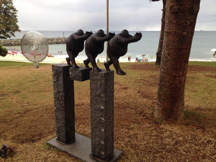 Is this a step forward   Artist  Keld Moseholm  Denmark