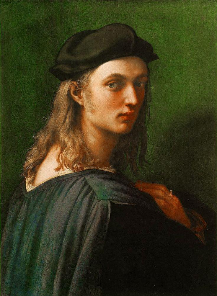 "Raphael: ""Portrait of Bindo Altoviti"",1515. (National Gallery of Art,Washington,DC.) National Gallery of Art, Washingon, DC, USA"