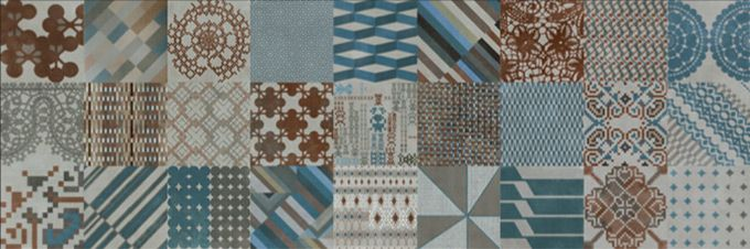 """Azulej"" design by Patricia Urquiola for MUTINA - Azulej Grigio, combination (27…"