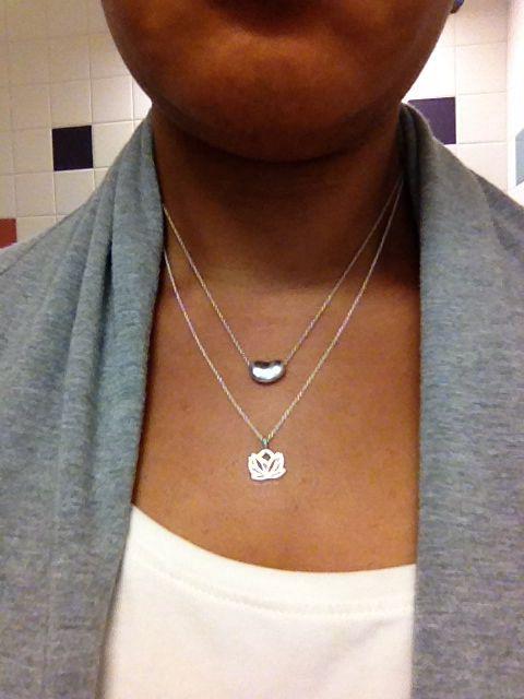 Tiffany Bean Dogeared Lotus Necklace My Jewelry