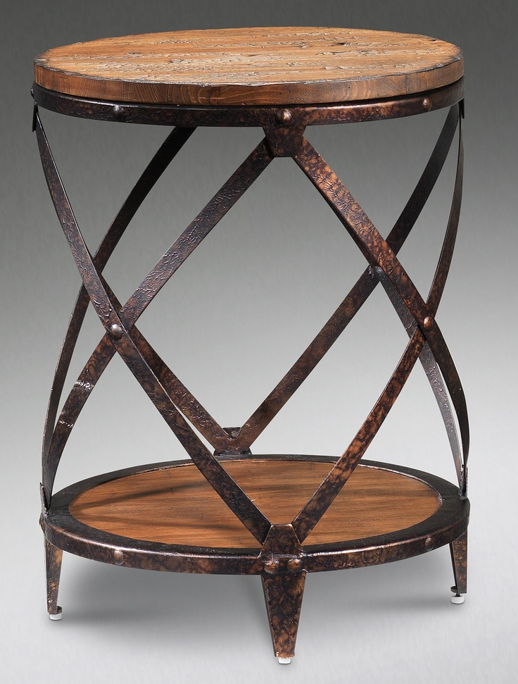 The Monroe Collection  Round End Table - Leon's