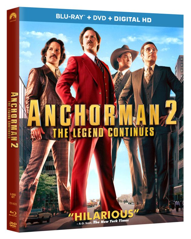 Anchorman 2 DVD Release Date & Extras: Announced!