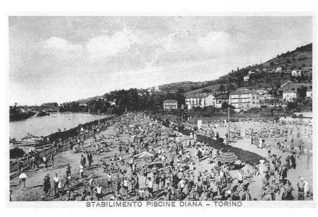 Stabilimento piscine Diana - Torino