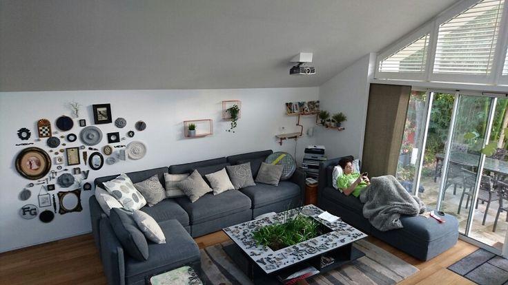 Canapé Ikea modèle Vallentuna composé avec 6 éléments