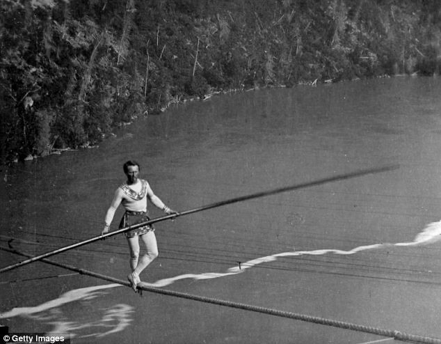 Charles Blondin was the first ever person to cross a ...