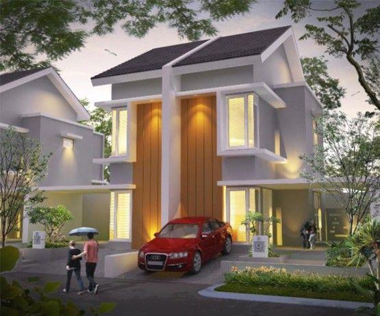 rumah dgn model rumah tingkat 2