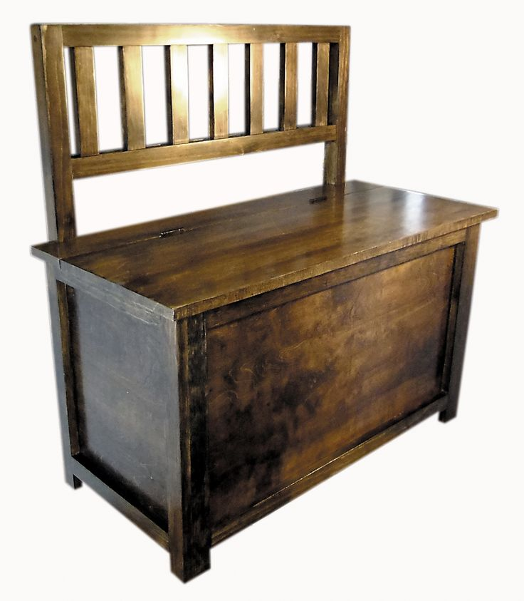 Compact Bench This original Beagle House Woodwork