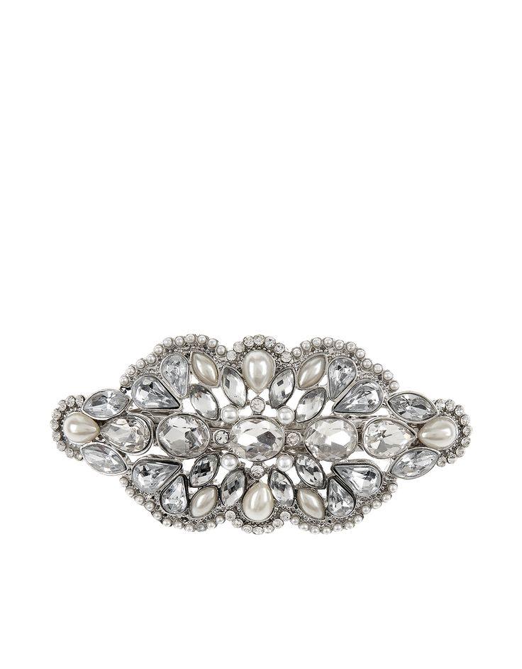 Blair Barrette Clip | Silver | Accessorize £15