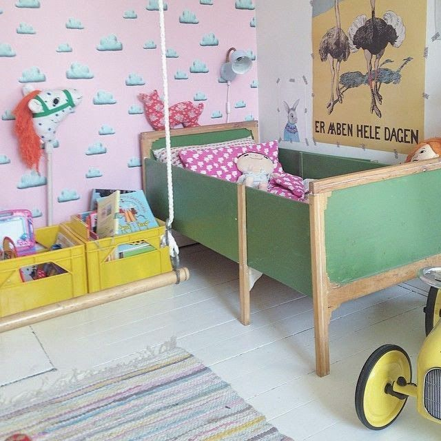 1000+ Ideas About Retro Kids Rooms On Pinterest