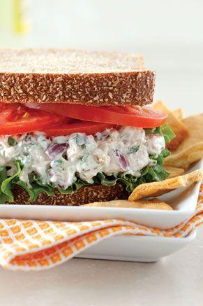 Herbed Chicken Salad Sandwich from Paula Deen