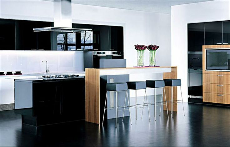 modern kitchen layout